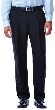 Haggar Men's J.M. Premium Classic-Fit Pleat-Front Stretch Suit Pants