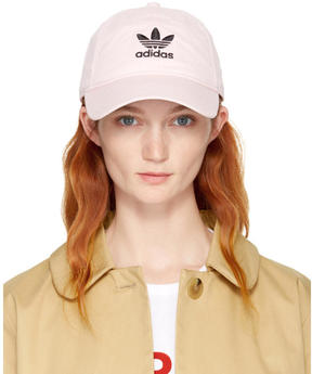 adidas Pink Relaxed Strapback Cap