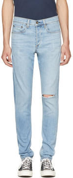 Rag & Bone Blue Standard Issue Fit 1 Extra Slim Jeans