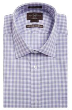 Black & Brown Black Brown Gingham Cotton Dress Shirt