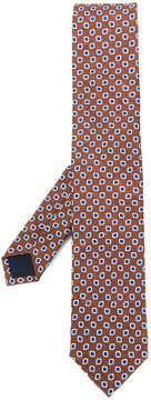 Corneliani embroidered woven tie