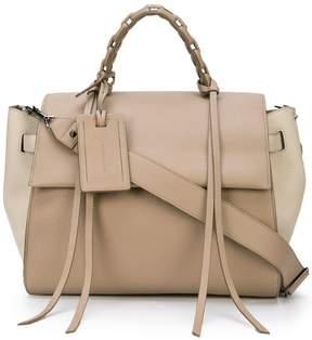 Elena Ghisellini large foldover tote bag