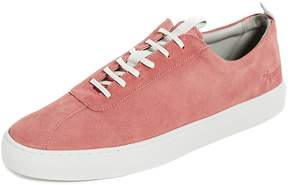 Grenson Low Top Suede Sneakers