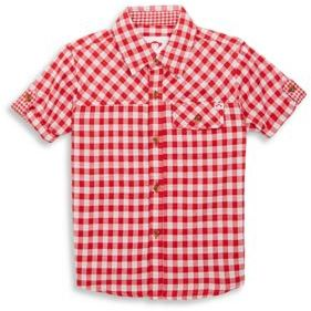 Appaman Toddler's, Little Boy's & Boy's Plaid Short Sleeve Shirt