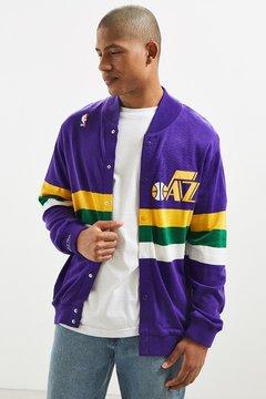 Mitchell & Ness Utah Jazz Snap Sweater