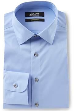 Murano Slim Fit Spread Collar Performance Dress Shirt