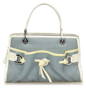 Lancel Pre-owned: Canvas Handbag.