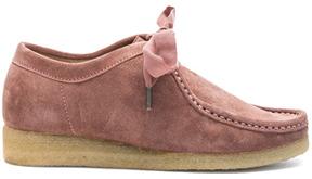 Ulla Johnson Suede Ander Desert Boots in Pink.