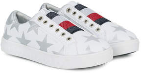 Tommy Hilfiger Junior star-print slip-on sneakers