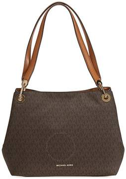 Michael Kors Raven Signature Tote - Brown - ONE COLOR - STYLE