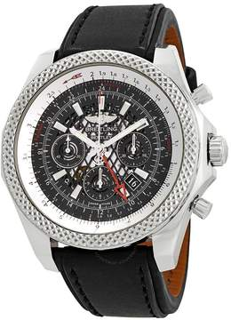 Breitling Bentley GMT Chronograph Automatic Chronometer Black Dial Men's Watch