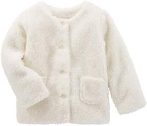 Osh Kosh Oshkosh Bgosh Toddler Girls Sherpa Jacket