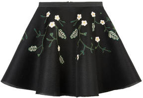 Derhy Kids Embroidered neoprene skirt