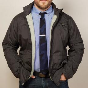 Blade + Blue Black Lightweight Puffer Jacket