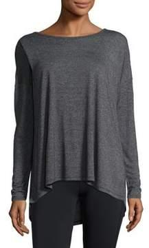 Gaiam Heathered Long-Sleeve Top