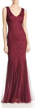 Aqua Soutache-Embellished Mermaid Gown - 100% Exclusive