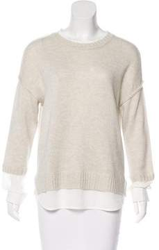 Brochu Walker Long Sleeve Knit Sweater