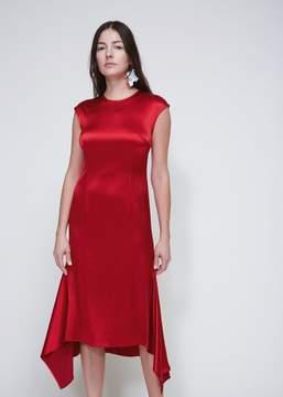 Cédric Charlier Cap Sleeve Dress
