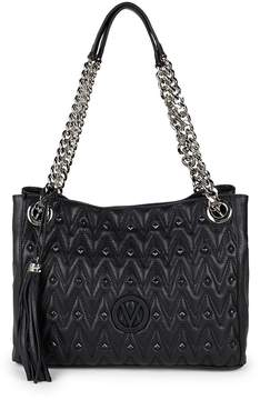 Mario Valentino Valentino by Women's Luisa Studded Leather Shoulder Bag