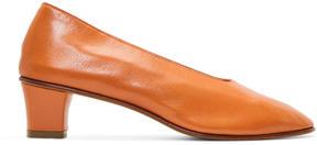 Martiniano Orange High Glove Heels