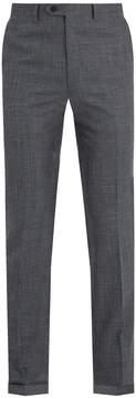Brioni Mid-rise slim-leg wool-blend trousers