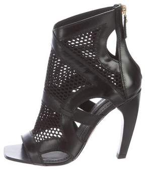 Louis Vuitton Perforated Caged Sandals