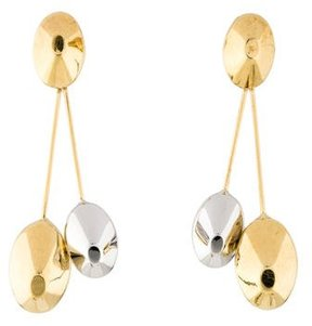 Chimento Double Oval Drop Earrings