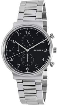 Skagen Men's Ancher SKW6360 Silver Stainless-Steel Quartz Dress Watch