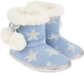 Monsoon Luna Star Slipper Boots