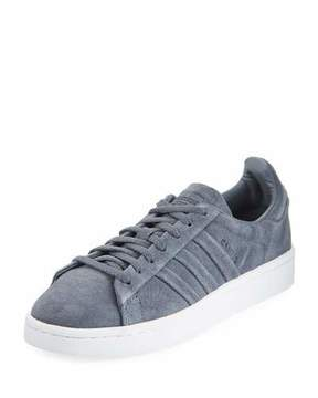 adidas Campus Stitch & Turn Suede Lace-Up Sneakers, Onyx