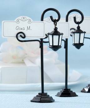 Streetlight Place Card Holder - Set of 12