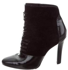 3.1 Phillip Lim Suede Leather-Trimmed Boots