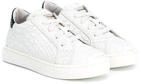 DSQUARED2 lizard-effect sneakers