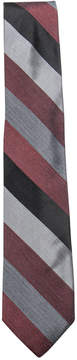 Ryan Seacrest Distinction Men's Audio Melange Stripe Tie, Created for Macy's