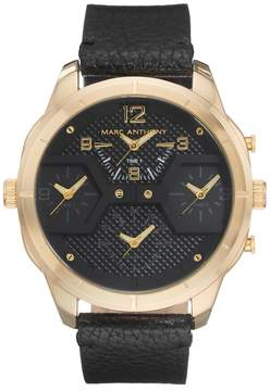 Marc Anthony Men's 4 Time Zone Watch