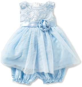 Jayne Copeland Baby Girls 3-24 Months Lace-Bodice Pleated-Skirt Dress