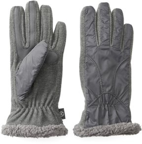 Isotoner Women's Water Repellent Chenille Tech Gloves