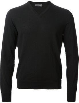 Drumohr v-neck knit sweater