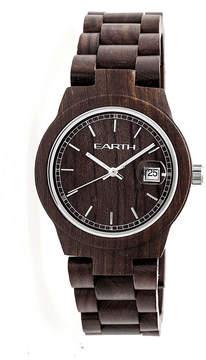 Earth Wood Biscayne Unisex Brown Bracelet Watch-Ethew4202