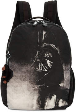 Kipling Disney's Star Wars Large Seoul Laptop Backpack - DARTH VADER BLACK/SILVER - STYLE