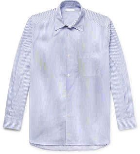 Our Legacy Striped Cotton-Twill Shirt