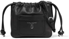 Marc Jacobs Leather Shoulder Bag - Black