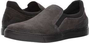 Emporio Armani Suede Slip-On Sneaker Men's Shoes