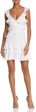 Bardot Lace-Inset Ruffled Dress - 100% Exclusive