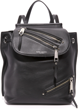 Marc Jacobs Zip Pack Backpack - BLACK - STYLE