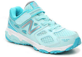 New Balance 680 Toddler & Youth Running Shoe - Girl's