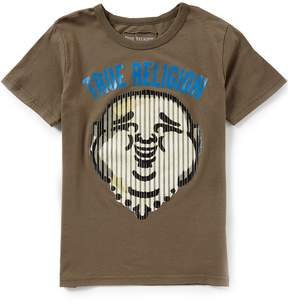 True Religion Big Boys 8-20 Short-Sleeve Buddha Stripe Tee