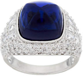 Elizabeth Taylor The 4.35cttw Sugarloaf Simulated Sapphire Ring