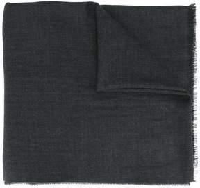 Emporio Armani raw edge scarf