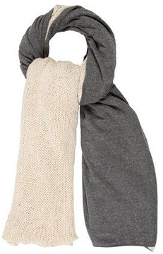 Donni Charm Fringe-Trimmed Knit Scarf w/ Tags